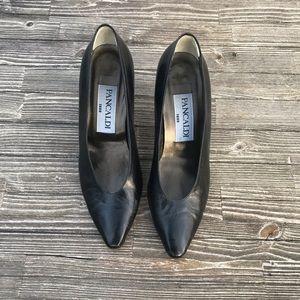 🌵PANCALDI 1888 Black Heels SZ 8.5